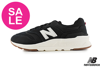 【出清下殺】New Balance 997 成人女款 運動鞋 經典復刻 輕量 慢跑鞋 O8540#黑色◆奧森