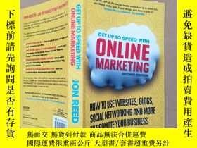 二手書博民逛書店get罕見up to speed with online mar