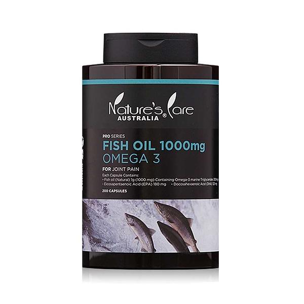 Nature's Care 豐納康 深海魚油 Omega-3膠囊 200顆【美人密碼】