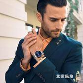 手錶男士防水石英超薄時尚男錶學生正韓潮流夜光鋼帶腕錶新款全館滿千88折