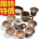 茶壺茶杯茶海套組喫茶品茗-陶瓷功夫茶送禮泡茶汝窯茶具組合61r12【時尚巴黎】