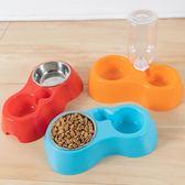 貓碗狗碗寵物用品泰迪英短小型犬雙碗貓狗食盆喂食飲水狗狗食糧碗