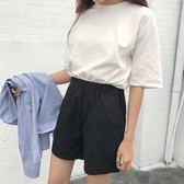 夏裝新款韓版棉麻女褲寬鬆顯瘦學生高腰熱褲休閒運動短褲闊腿褲潮 東京衣櫃