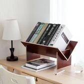 書架 居家家實木組裝書架桌上落地小書櫃學生桌面收納置物架簡易小書架 免運