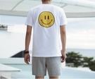 FINDSENSE MD 韓國 潮 男 時尚 笑臉印花 短袖T恤 特色T恤 圖案