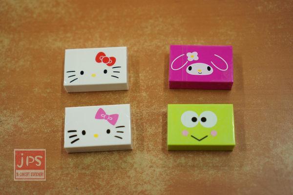 SANRIO 臉型 橡皮擦 Hello Kitty & My Melody & 大眼蛙