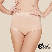 高腰280丹曲線緹花蕾絲修飾蠶絲塑身褲 M-XXL(迷人膚)-伊黛爾
