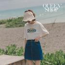 Queen Shop【03010759】經典純色牛仔短裙 兩色售 S/M/L*現+預*