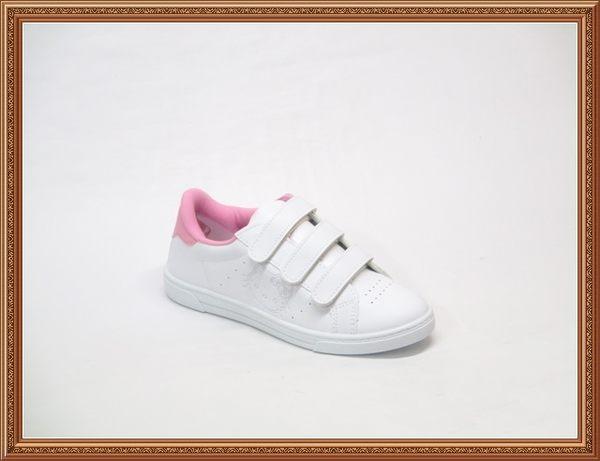 718631愛麗絲的最愛☆.☆㊣台灣製造 三麗鷗凱蒂貓Hello Kitty浮水印板鞋/魔鬼氈運動鞋