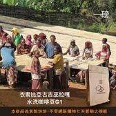 【咖啡綠商號】衣索比亞古吉巫拉嘎水洗咖啡豆G1(一磅)