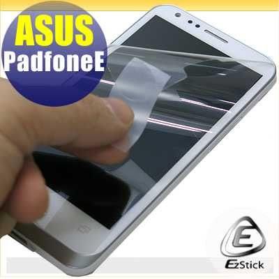 【EZstick】ASUS Padfone E A68M 專用 靜電式手機LCD液晶螢幕貼 (高清霧面)