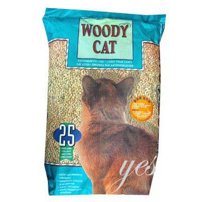 【 ZOO寵物樂園 】WOODY CAT美克斯松木砂-試用包1KG (-用了才知道-)