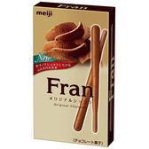 明治Fran棒狀餅乾-巧克力口味45g【愛買】