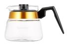 金時代書香咖啡 Bonmac 金邊耐熱塑膠手把玻璃壺 5人用 700ml CS-5
