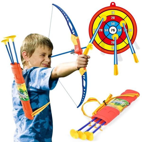 兒童吸盤弓箭套裝玩具初學者