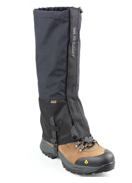 SEA TO SUMMIT ALPINE eVENT GAITERS 綁腿 黑