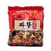 韓國 農心 炸王醡醬麵-辣味(140g*4)【庫奇小舖】