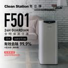 克立淨 F501 全時偵測空氣清淨機 自動啟動 聯網app 節能省電 無塵室淨化標準