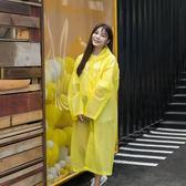 非一次性長款單人雨衣加厚旅游便攜成人男女雨披旅行戶外徒步時尚  居家物語