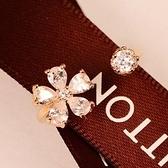 戒指 925純銀 鑲鑽-復古花朵生日情人節禮物女開口戒2色73dv5【時尚巴黎】