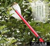 摘果器 摘果器摘果剪自製超強伸縮桿高空採摘器34567米采果器【全館免運】