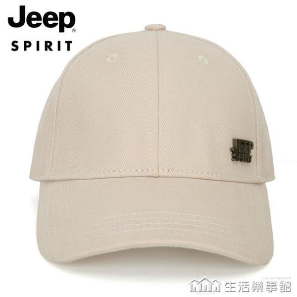 JEEP/吉普男士四季純棉棒球帽戶外帽子男韓版潮女青年百搭鴨舌帽 樂事館新品