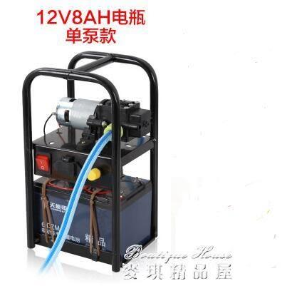 噴霧器 電動農用手提式打藥機彌霧機洗車機抽水機高壓隔膜泵機器igo 麥琪精品屋