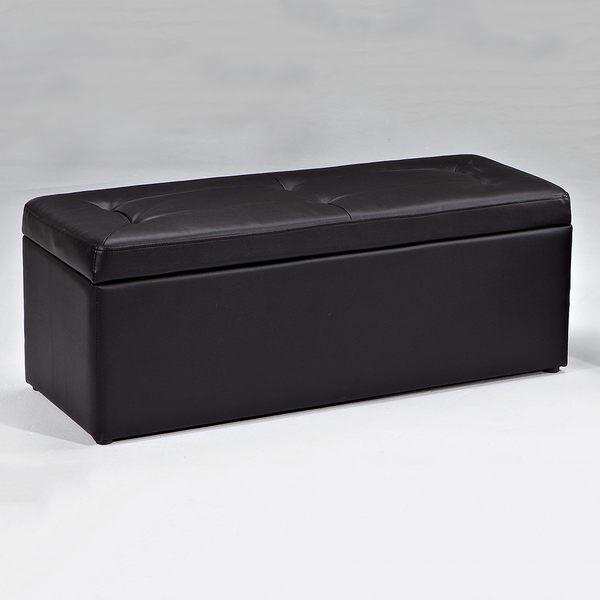 【森可家居】小不點置物百寶箱(大)(黑色) 7JX159-13 收納