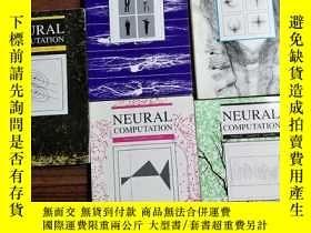 二手書博民逛書店NEURAL罕見COMPUTATION 五冊合售(具體見圖Y18