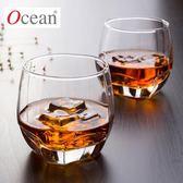 Ocean泰國進口無鉛玻璃杯威士忌杯子四方杯酒吧KTV洋酒杯耐熱水杯