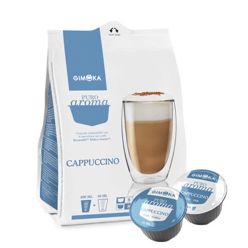 GK-DG11 Gimoka Cappuccino 咖啡膠囊 ☕Dolce Gusto專用☕