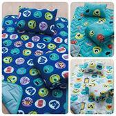 台灣製兒童睡墊 正版迪士尼授權 【怪獸電力公司】睡墊 涼被 童枕3件組 幼稚園睡袋 多種款式