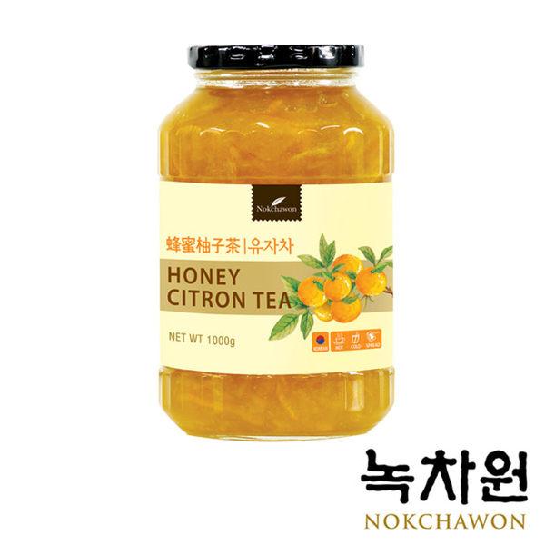 韓國 NOKCHAWON 綠茶園 蜂蜜柚子茶 (1kg/罐) 黃金柚子茶 韓國柚子茶