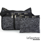 LeSportsac - Standard雙口袋A4大書包-附化妝包 (音樂旋律) 7507P F441