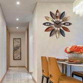 普賽克 歐式鐘錶時鐘掛鐘客廳個性創意現代簡約復古家用臥室大氣  HM 焦糖布丁