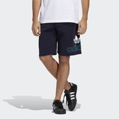 ADIDAS 短褲 ORIGINALS PRE-GAME SHORTS 深藍 湖綠 訓練 運動 透氣 排汗 男 (布魯克林) FM1512