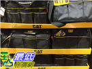 [COSCO代購] C119773 CAT 16吋 WIDE MOUTH TOOL BAG 16吋寬口工具袋