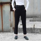 九分褲-時尚端莊羊毛修身女西裝褲73sp25【巴黎精品】