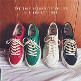 春季新款低筒板鞋潮流帆布鞋男士百搭休閒旅遊鞋韓版青少年男鞋子