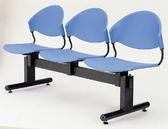 【IS 空間美學】T 字管排椅2 人座三款尺寸可選