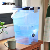【nicegoods】日本製 Shinwa伸和 可攜式分享水壺19L
