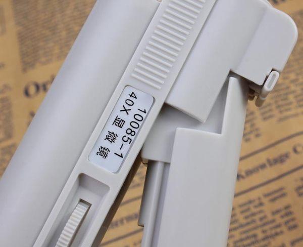 顯微鏡 放大鏡帶燈100倍顯微鏡便攜40倍80高倍手持古玩珠寶鑒定印刷網點 igo維科特3C