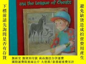 二手書博民逛書店英文原版罕見Harriet Bean and the Leagu