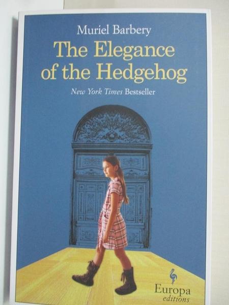 【書寶二手書T1/原文小說_IE8】The Elegance of the Hedgehog_Barbery