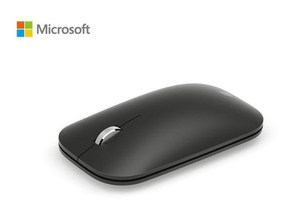 微軟 時尚行動藍芽滑鼠-黑