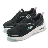 Skechers 健走鞋 Arch Fit-Gentle Stride 黑 綠 女鞋 足部支撐 醫師推薦 運動鞋 【ACS】 149413BKMN