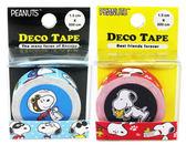 【卡漫城】 Snoopy 造型 紙膠帶 二入組 紅藍 ㊣版 筆記貼 史奴比 史努比 裝飾 貼紙 DIY 糊塗塔克