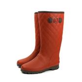Moonstar 雨鞋 雨靴 橘紅色 女鞋 MFL32RL2 no210