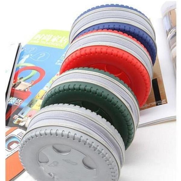 【DN158】輪胎造型CD收納盒40片裝 CD包 cd收納包~不挑款 EZGO商城