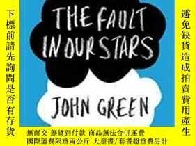 二手書博民逛書店The罕見Fault In Our Stars-我們星球上的錯誤Y436638 John Green Peng